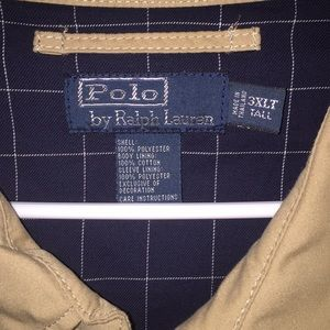 Polo jacket 3XLTall